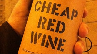 Illustration for article titled Cheap Paper On a Wine Label May Indicate Lousy Quality