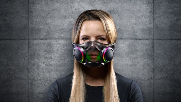 Attn Bane: Razer's High-Tech RGB Covid Mask Is Finally Out