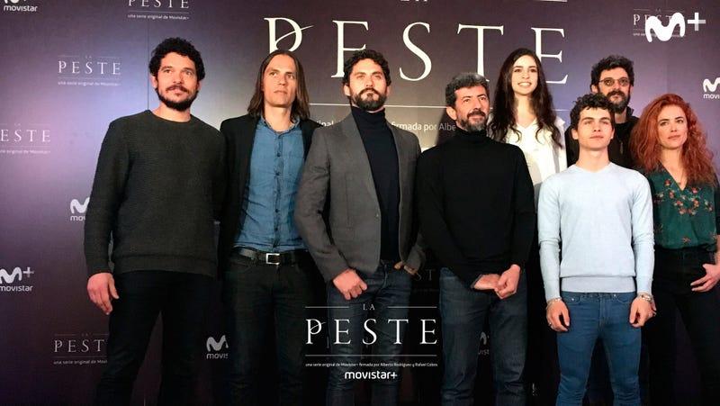 El equipo de La Peste. Imagen: Movistar+ / Twitter