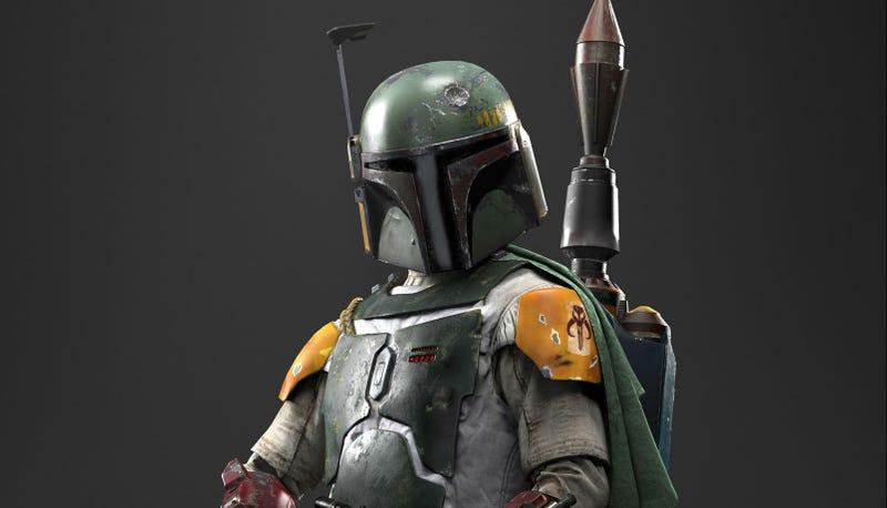 A digital Boba Fett from Star Wars: Battlefront. Image: EA
