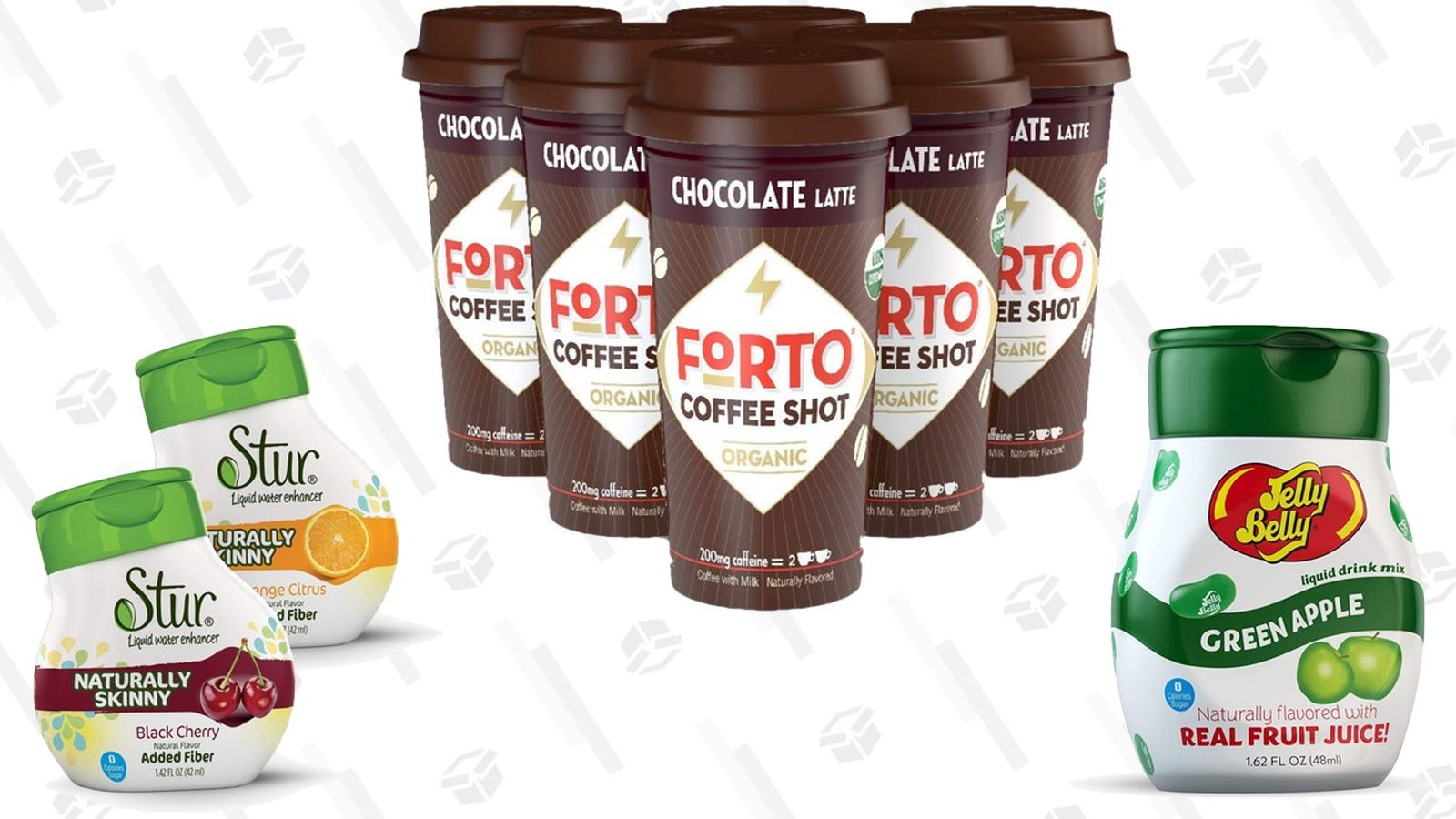 Save On Coffee Shots, Water Enhancers, and Other Tiny Drinks