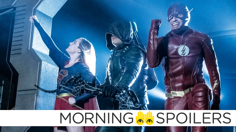 Wild Legends of Tomorrow Pics, and Suicide Squad Villain Rumors