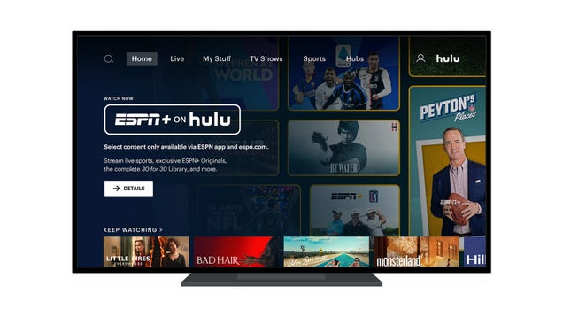 With ESPN+ Now on Hulu, It Really Is the Best All-Around Streaming Service