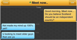 Illustration for article titled Grindr Pollster Nailed the Results of Scottish Referendum