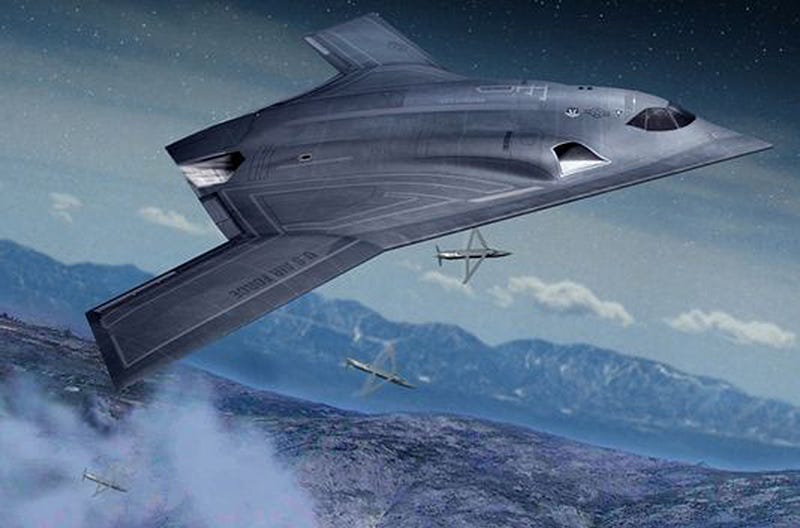 Illustration for article titled Northrop Grumman Wins The Contract To Produce America's Next Stealth Bomber