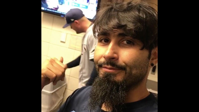 Illustration for article titled Sergio Romo Takes On New Role Of Following Lucas Duda