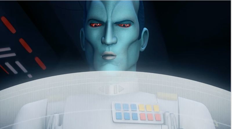 Illustration for article titled New Star Wars Rebels Footage Is Thrawnalicious