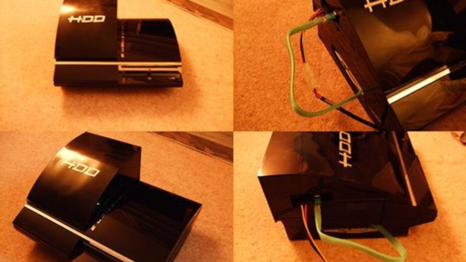 PlayStation 3 External Hard Drive Mod Is Great Work For ...