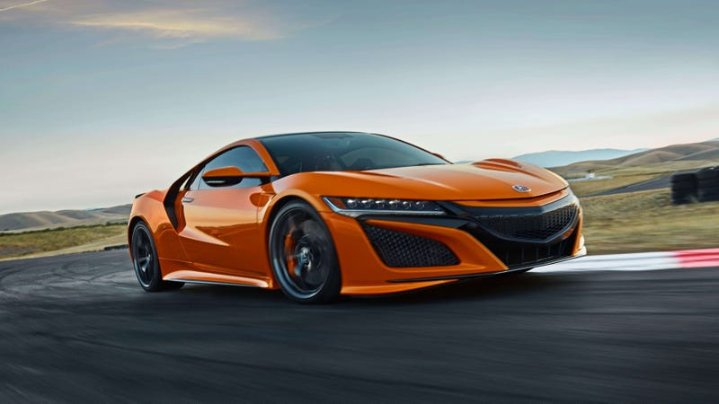 Illustration for article titled The 2019 Acura NSX Has Been Made Even Greater