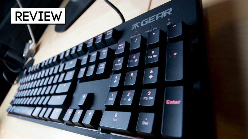 Illustration for article titled Fnatic Gear Rush Silent Review: The Softer Side Of Pro Gaming Keyboards