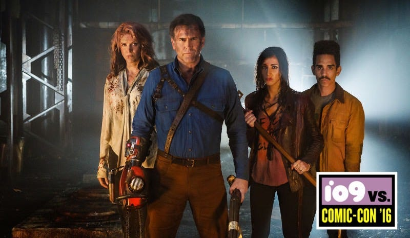 Illustration for article titled Army of Darkness Will Be Part of Ash vs. Evil Dead's SecondSeason