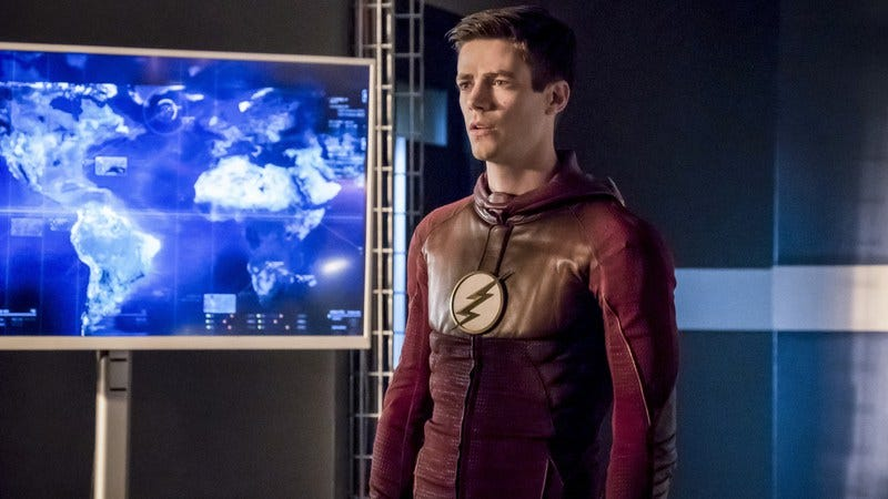Grant Gustin/The CW