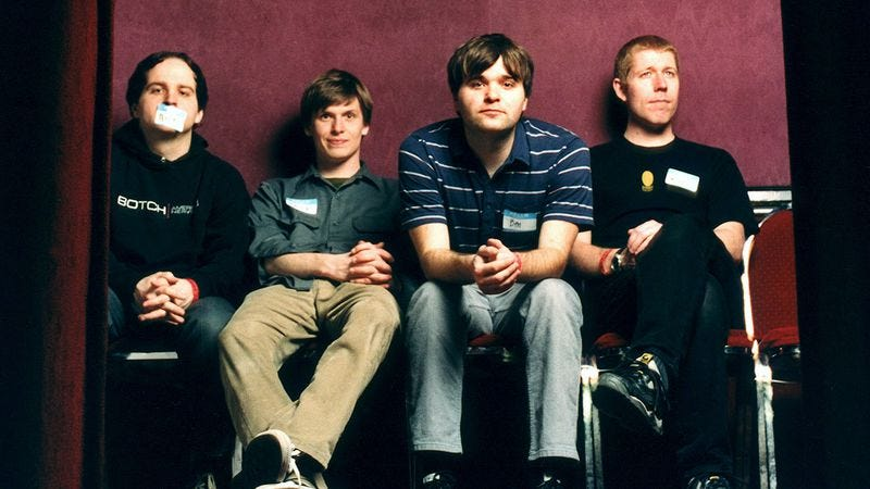 Death Cab For Cutie in 2002 (Photo: Getty Images)