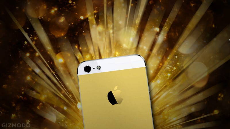 Illustration for article titled Why a Gold iPhone 5S Actually Makes Sense