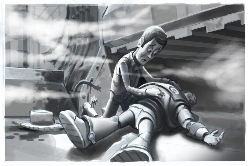 Illustration for article titled Thank God This Version Of Toy Story 3 Never Saw The Light Of Day
