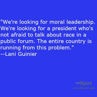 Illustration for article titled Quote of the Day: Lani Guinier on Leadership