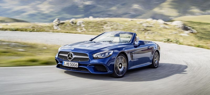 Illustration for article titled THE NEW MERCEDES-BENZ SL IS NOW EVEN MORE DYNAMIC HOW IS THIS POSSIBLE