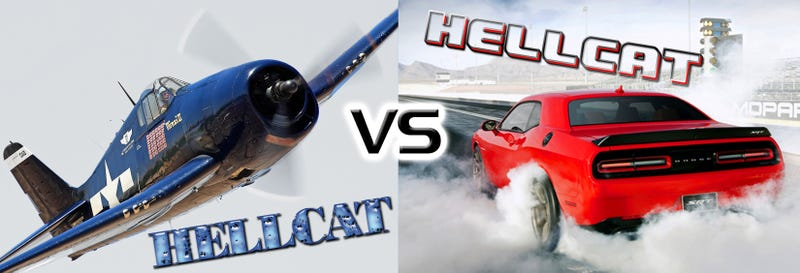 Illustration for article titled Grumman Hellcat Or SRT Hellcat: Which Is Truly The Greatest Hellcat?