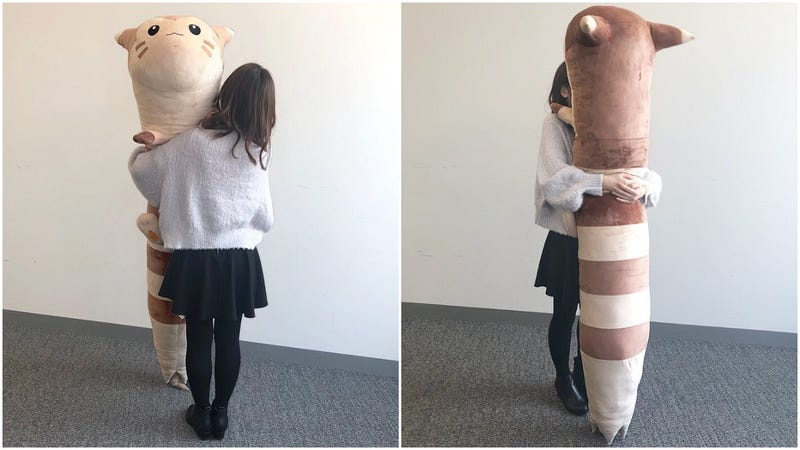 Illustration for article titled This Life-Sized Pokémon Plush Toy Is Quite Long