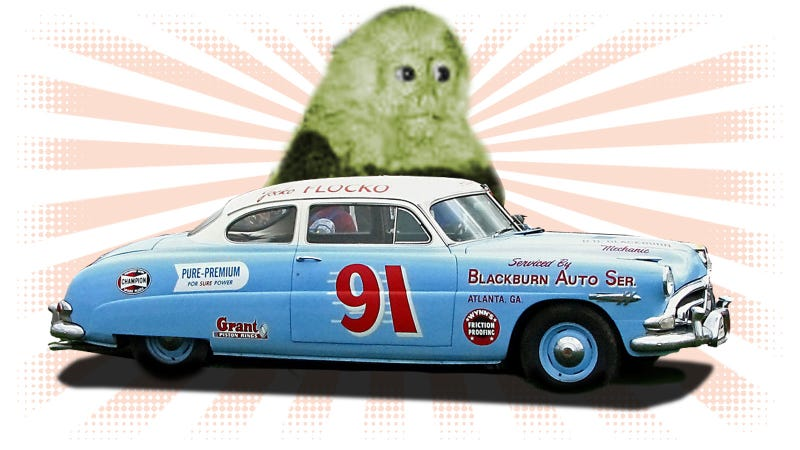 Illustration for article titled That Time A Monkey Went Apeshit On A NASCAR Driver's Face