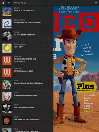 Illustration for article titled WIRED Magazine's Gorgeous App Now Available On The iPad