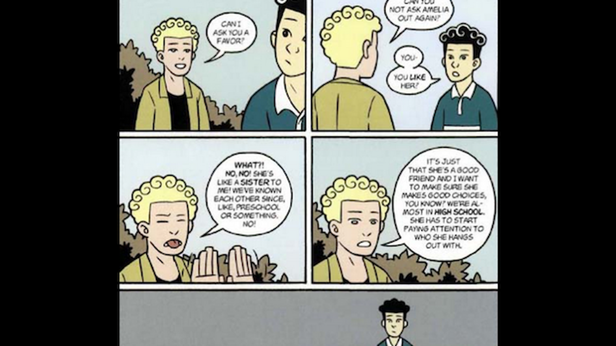 Dating an american born chinese graphic novel