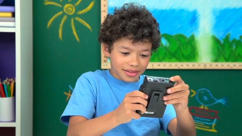 Watch the youth of today struggle to figure out how to work a Sony Walkman