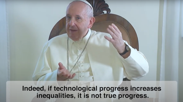 Pope Francis Wants You to Pray for Ethical Robots