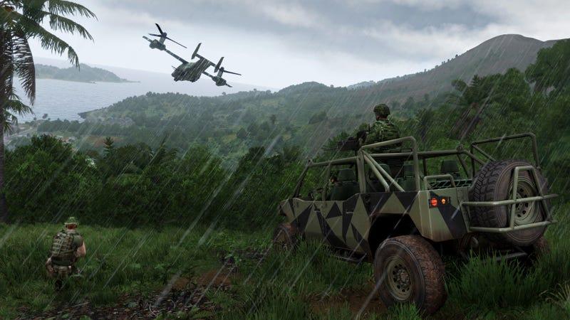 Illustration for article titled ArmA 3 Apex Is DIY Jungle Warfare