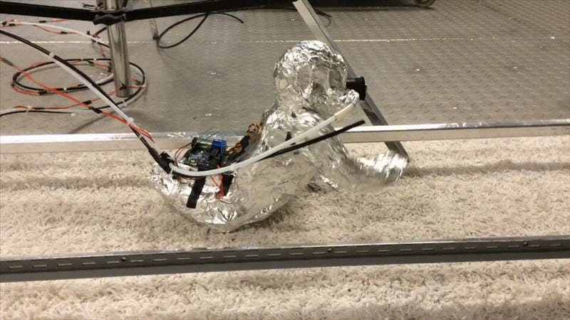 A Creepy, Crawling Robot Baby Reminds Us That Carpets Are Disgusting