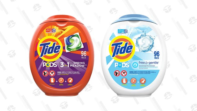 Don t Tell the Kids: Tide Pods Are $10 off When You Buy Two 98-Count Packs