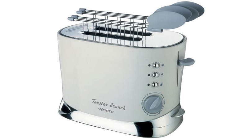 Illustration for article titled Avoid Electrocution By Using This Toaster's Clever Plastic Handles