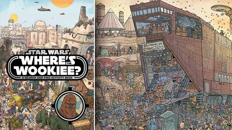 Illustration for article titled Busca a Chewbacca en esta genial versión de Buscando a Wally ambientada en Star Wars