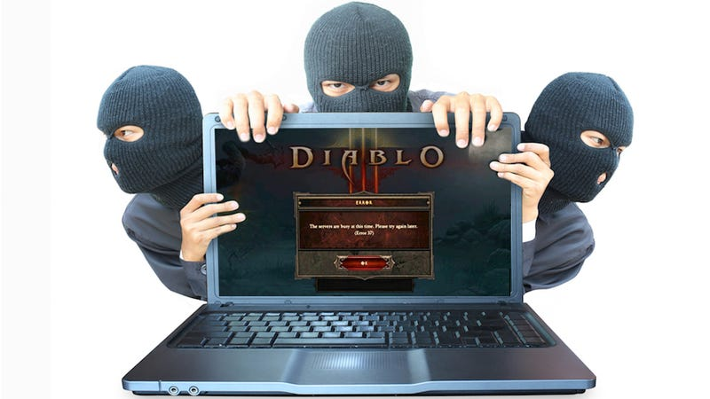 Illustration for article titled Blizzard: Number of Players Claiming Hacked Diablo III Accounts 'Extremely Small'