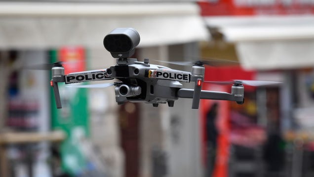 Awesome, Now Police Are Using Automated Drones