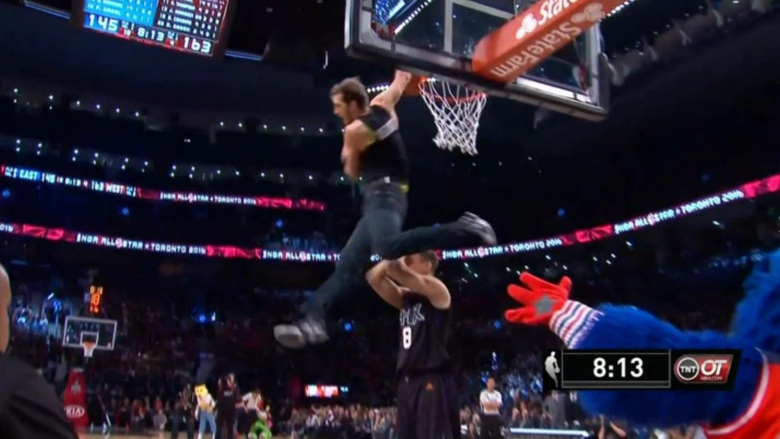 A Guy In Jeans Had The Best Dunk Of All Star Weekend