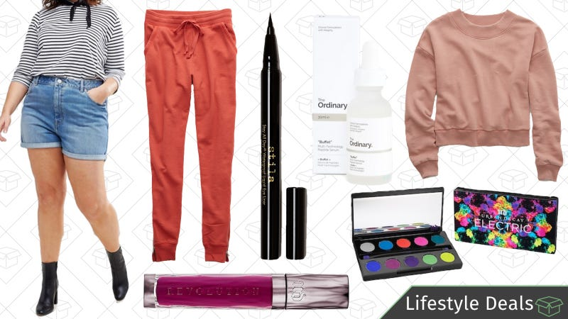 Illustration for article titled Friday's Best Lifestyle Deals: Aerie, Stila Cosmetics, ASOS, Urban Decay, and More