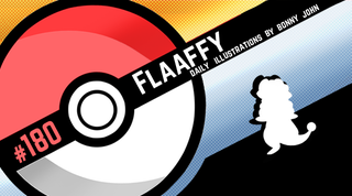 Illustration for article titled Fluffy...Flaaffy! Pokemon One a Day, Series 2!