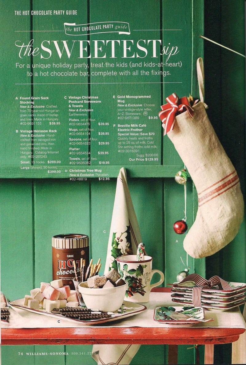 Williams Sonoma Christmas Catalog.The Hater S Guide To The Williams Sonoma Catalog