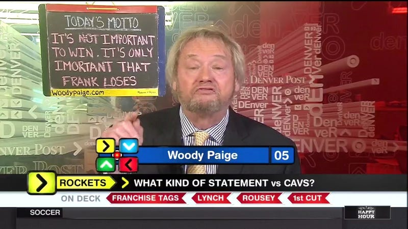 Illustration for article titled Woody Paige Is Looking Terrific As Usual