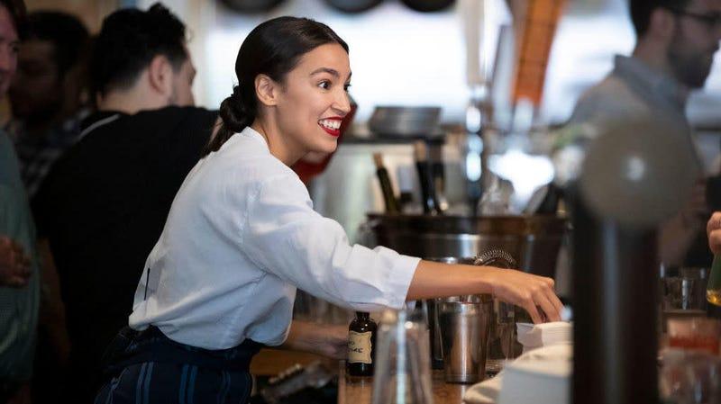 Saturday Night Social: Alexandria Ocasio-Cortez Made a New Friend