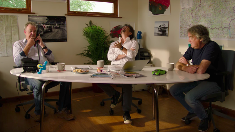 The Grand Tour Is Replacing The American Mike Skinner