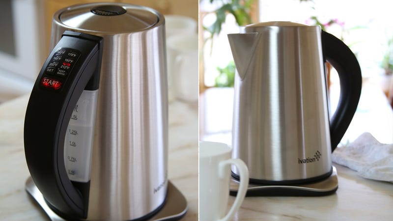 Ivation 7-Cup Precision Temp Electric Kettle, $50