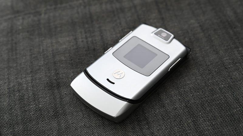 El Motorola Razr.