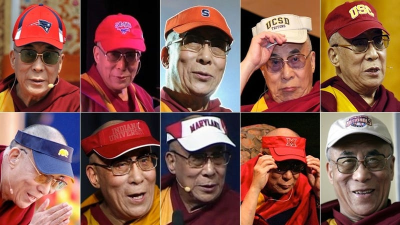 Illustration for article titled The Dalai Lama Is A Giant Bandwagoner