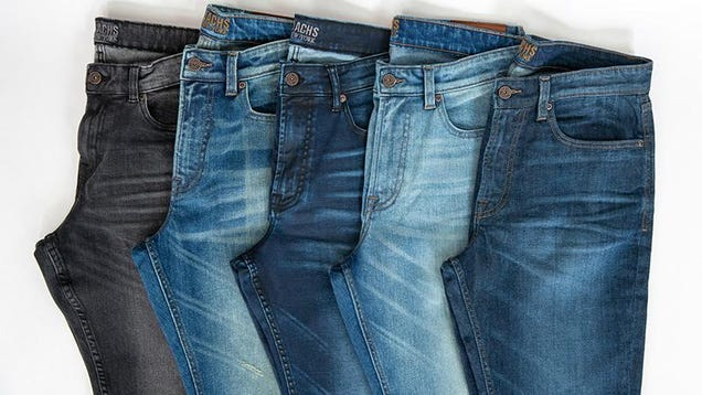 Get a Pair of Stretch Denim Jeans From Jachs Before You Gain Holiday Weight