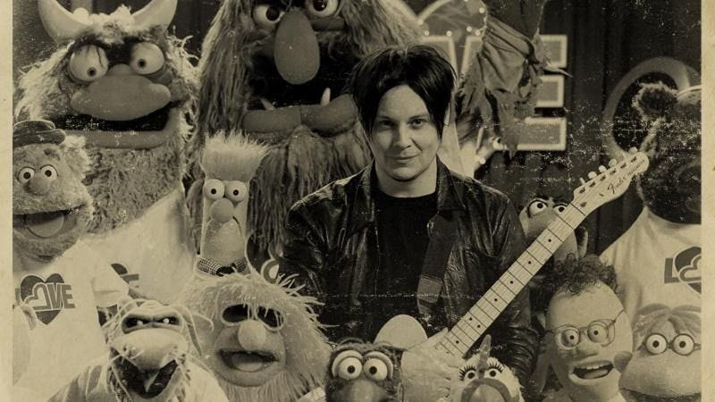 Illustration for article titled Now you can own the Jack White/Muppets musical team-up