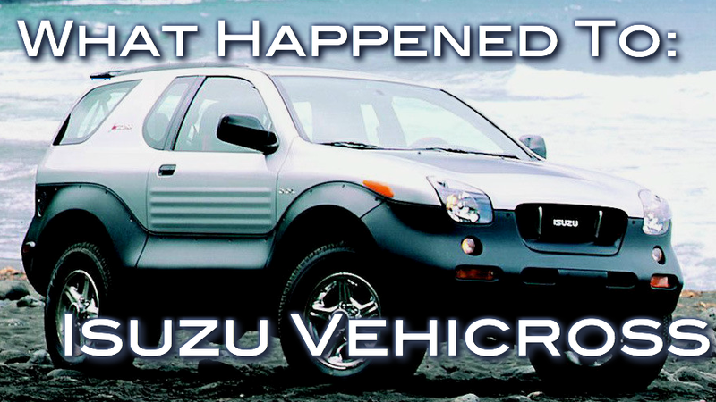 What Happened To Isuzu VehiCROSS