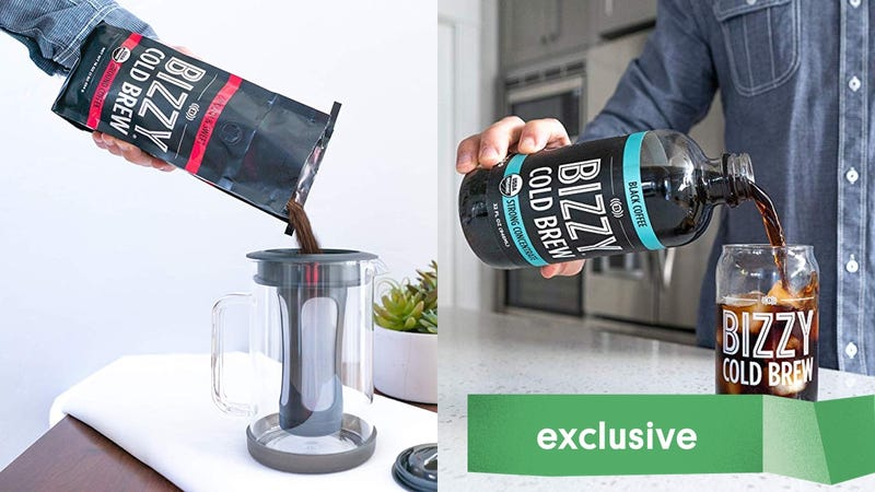15% Off Bizzy Cold Brew Products   Amazon   Promo code BZYGIZMO   Must be fulfilled by Amazon