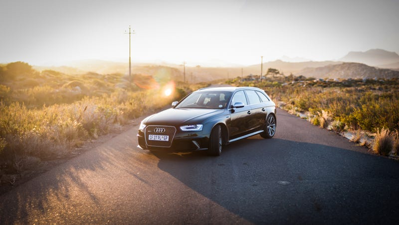 Illustration for article titled Stitched Photo: Audi RS 4 Avant